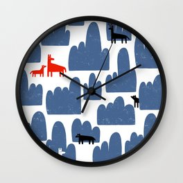 Animal World Wall Clock