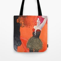 shadow Tote Bags featuring Shadow by doviArt
