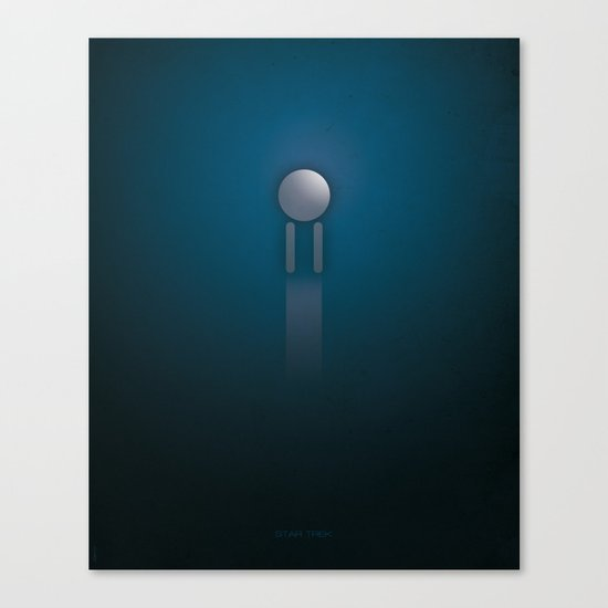 SMOOTH MINIMALISM - Star Trek Canvas Print