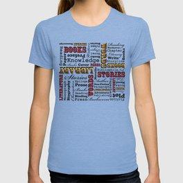 A Book Lover's Medley T-shirt