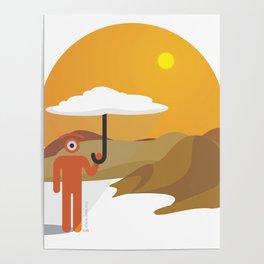 sunny glance Poster