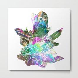 Quartz crystals 4 Metal Print