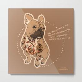 Pets Ink - JS Metal Print