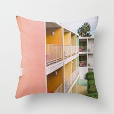 Palm Springs Vibes II Throw Pillow