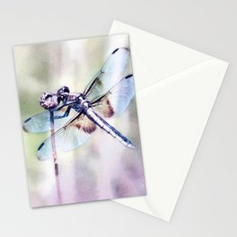 Dragonfly in Pastels Stationery Cards