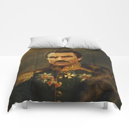 Tom Selleck - replaceface Comforters