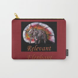 Relevant Elephant Carry-All Pouch