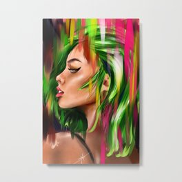 Poison Ivy Metal Print