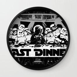 The Last Dinner Wall Clock