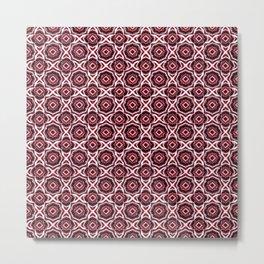 Mandala - God's Eye - Ojo de Dios - Tibetan Mantra of Wealth - Slavic Color Metal Print