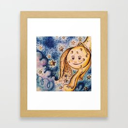 even the stars look different Framed Art Print