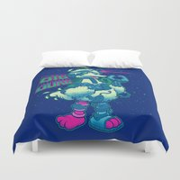 muppet Duvet Covers featuring BIG BORG by BeastWreck