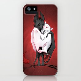 Bats in Love iPhone Case