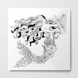 Humanimals: mermaid Metal Print