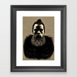 Wolf Man Framed Art Print