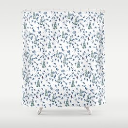 Let's Go Skiing! – Xmas Edition Shower Curtain