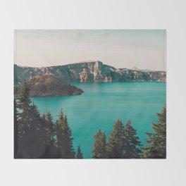 Dreamy Lake Throw Blanket