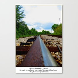 The Old Rail Review Canvas Print