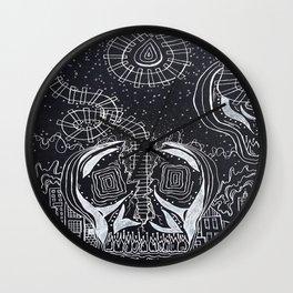 """""""Split Tracks"""" Art Wall Clock"""