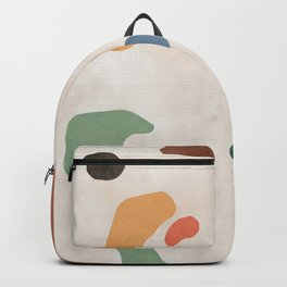 Organic Terracotta Thin Shapes  Backpack