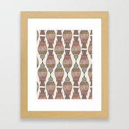 birdpeck summer Framed Art Print