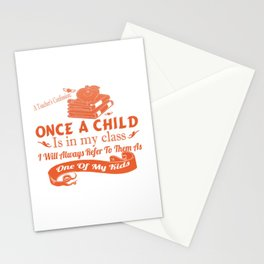 A Teacher's Confession Stationery Cards