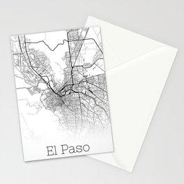 City Map Neck Gaiter El Paso Texas Neck Gator Stationery Cards