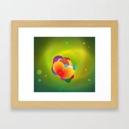 Hydrogenation Metal Catalyst  Framed Art Print