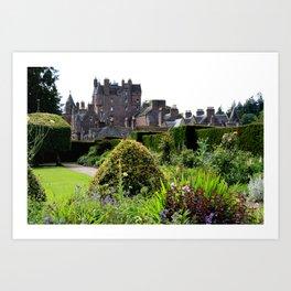 Glamis Castle  Art Print