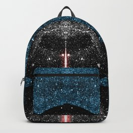 Darth Vader with Lightsaber in Galaxy Backpack