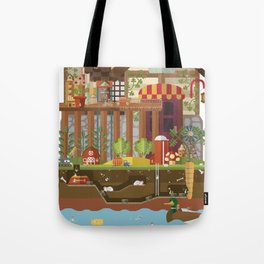Big World, Little People Tote Bag