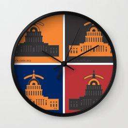w.eyes.hington Wall Clock