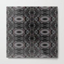 RattleSnake Design Metal Print