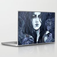 marceline Laptop & iPad Skins featuring Marceline by Angela Rizza
