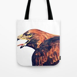 Illustrator triangle low poly Tote Bag