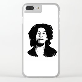 Mr. Marley Clear iPhone Case