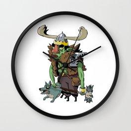Goblin Boss Wall Clock