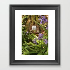 Fairies sleeping Framed Art Print