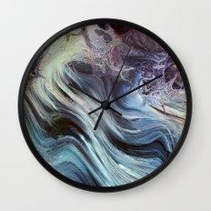 Storm at Sea Wall Clock