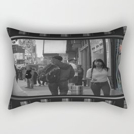 Reflections in Color: New York City Rectangular Pillow