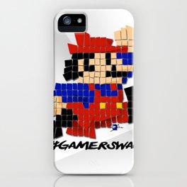 Pixel Mario iPhone Case