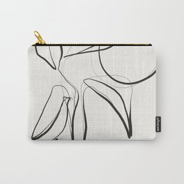 Abstract line art /Plant Carry-All Pouch