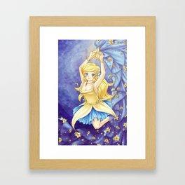 Dancing Star Framed Art Print