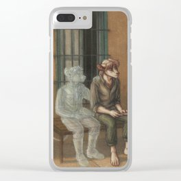 I Remember - 2 Clear iPhone Case