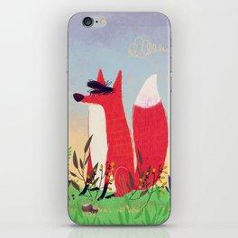 The Fox. iPhone Skin