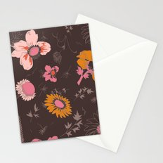 large flowers Stationery Cards
