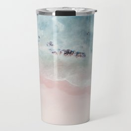 Ocean Pink Blush Travel Mug