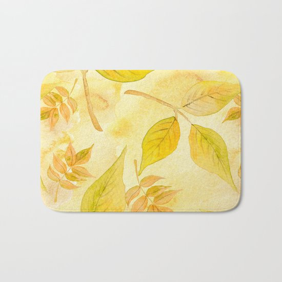 Autumn leaves #13 Bath Mat