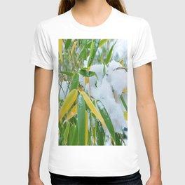 winter bamboo snow T-shirt