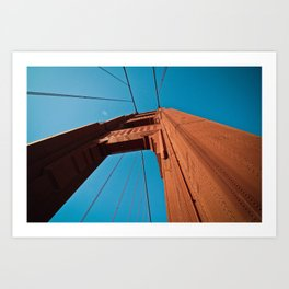 Golden Gate Bridge - SF Art Print